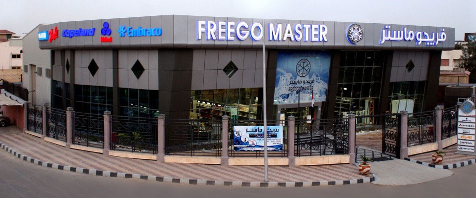 Welcome to Freego MasterLargest Showroom for refrigerant & A/C parts in Egypt.